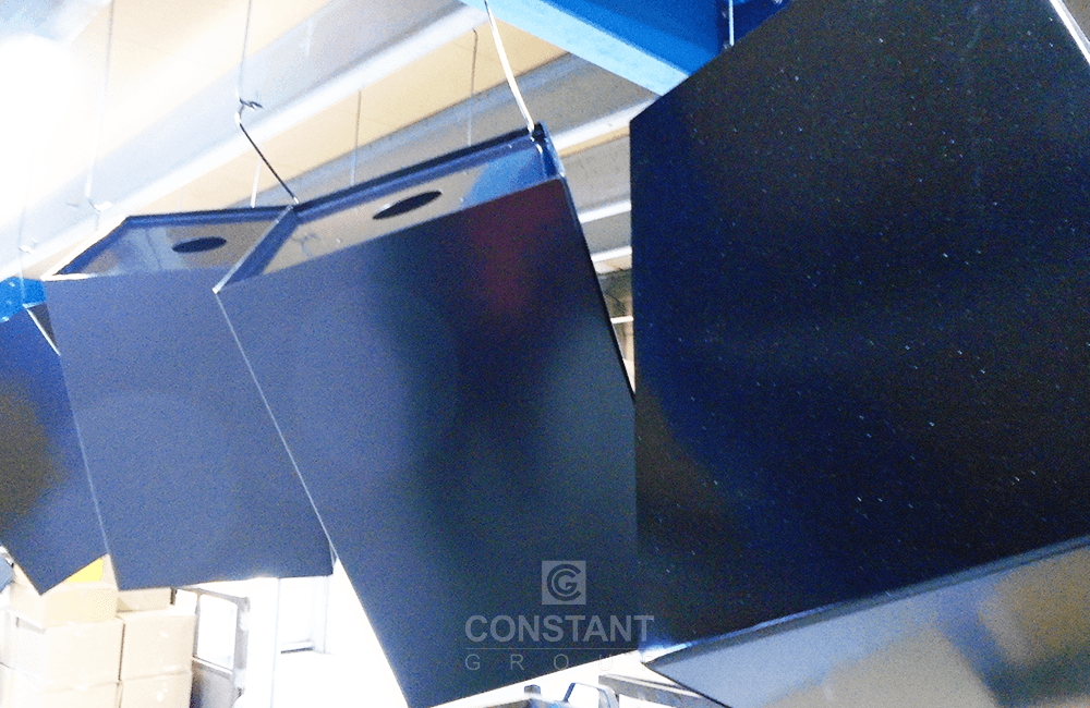 Manufacturing Case Study - Magnet Display - Powder Coating