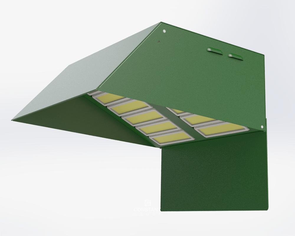 3D CAD Outdoor Sport Lighting Unit