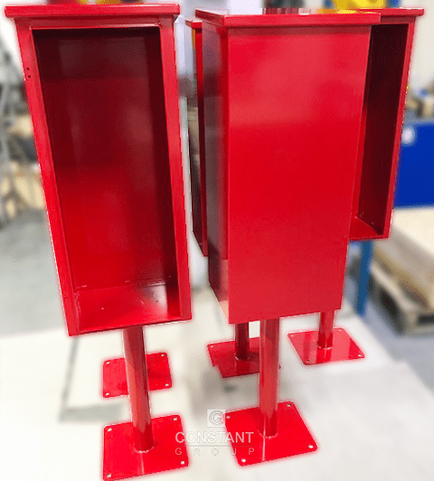 Manufacturing Freestanding Fire Extinguisher Cabinets