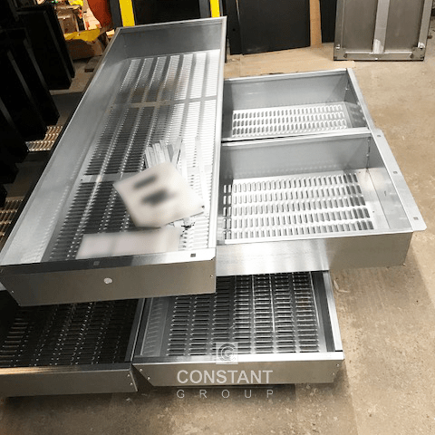 Metal Louvered Panel